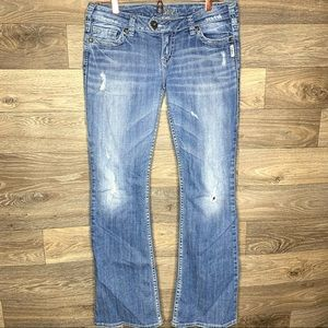 Silver Tuesday Low Rise Bootcut Jeans